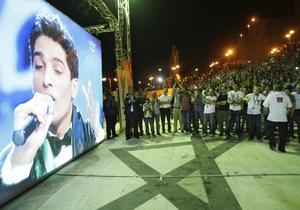 Сектор Газа поздравляет победителя арабского шоу талантов