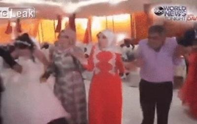 Появилось видео момента взрыва на свадьбе в Турции