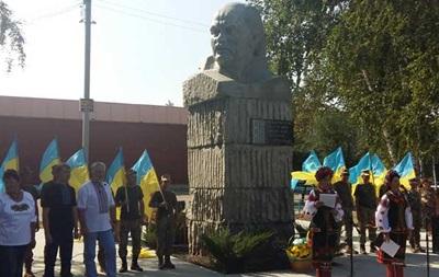 В Донецкой области открыли памятник Шевченко
