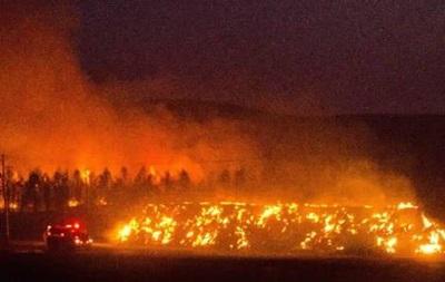 В штате Вашингтон горят леса