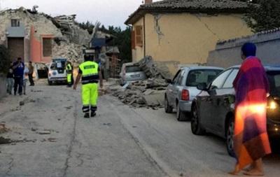 Землетрясение разрушило город в Италии
