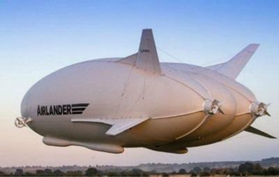 Самолет-дирижабль Airlander 10 зацепился за столб во время испытаний