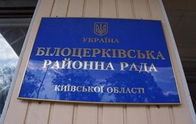 В райадминистрации под Киевом прогремел взрыв