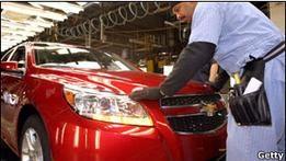 General Motors объявил о рекордной прибыли за 2011 год