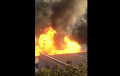 Появилось видео взрыва наСалтовке