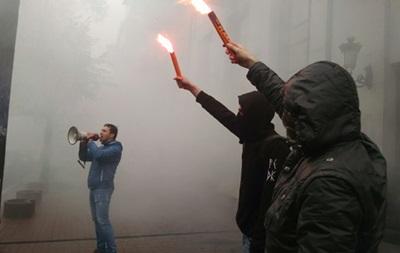 В Киеве напали на здание Россотрудничества