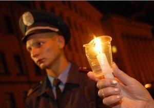 Акция памяти Гонгадзе: Герман обвинила милицейских начальников в тупости