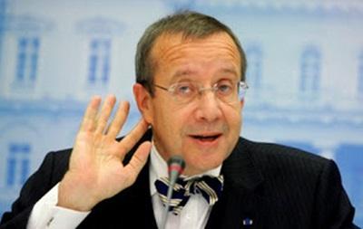 В Эстонии не смогли избрать президента в первом туре