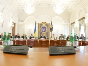 В понедельник состоится внеочередное заседание СНБО