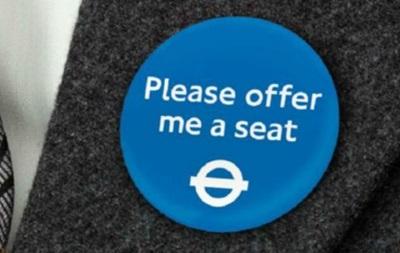Метро Лондона вводит значки для лиц с физическими недостатками