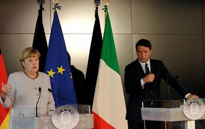 Германия поможет Италии после землетрясения