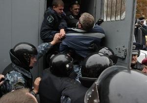 Суд арестовал на сутки четверых сторонников Тимошенко