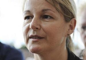 Новый врач из Германии приступила к лечению Тимошенко