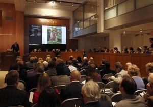 В 2011 году Christie s и Sotheby s продали современного искусства на $1,7 млрд