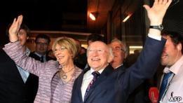 Лейборист Майкл Хиггинс избран президентом Ирландии