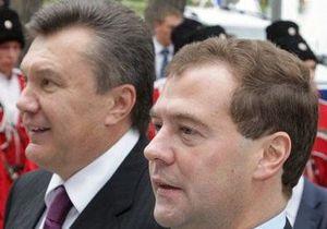 Янукович и Медведев обсудят последствия чернобыльской трагедии