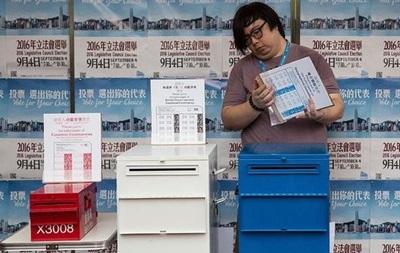 В Гонконге проходят парламентские выборы