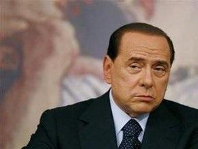 Эскорт-девушка  Патриция Д Aддарио устраивает в Париже  Берлускони-party