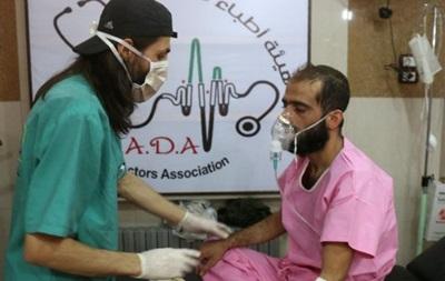 Волонтеры обвинили армию Асада в отравлении Алеппо хлором