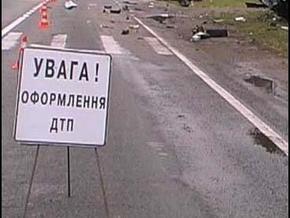 В Хмельницкой области произошло крупное ДТП