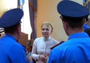 Гособвинение предлагает приговорить Тимошенко к семи годам лишения свободы