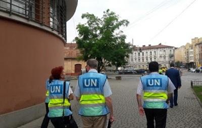 Представители ООН побывали в краматорском СБУ