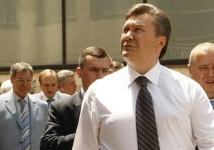 Янукович собирается отдохнуть в Крыму