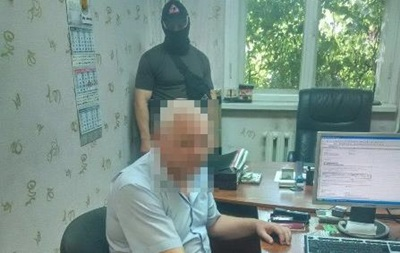 ВОдессе задержали взяточника изГоструда