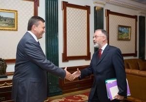 Табачник отчитался перед Януковичем