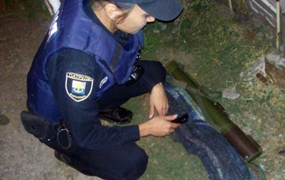 В Мариуполе дети нашли гранатомет и принесли домой