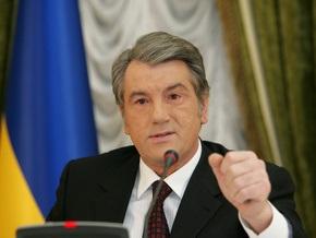 Ющенко: Ситуация в стране вполне контролируемая
