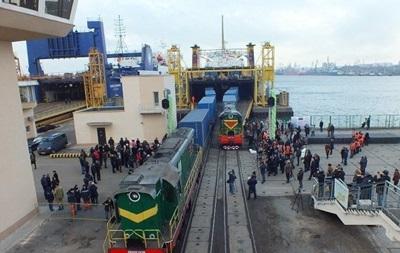 Украина запустит железнодорожный паром в Грузию