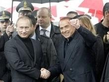 Встреча Путина и Берлускони стала встречей старых друзей