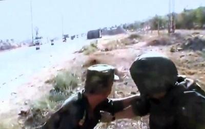 Русский военный попал под обстрел вСирии впроцессе видеомоста сМосквой