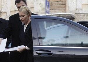 Тимошенко в очередной раз зовут в Генпрокуратуру