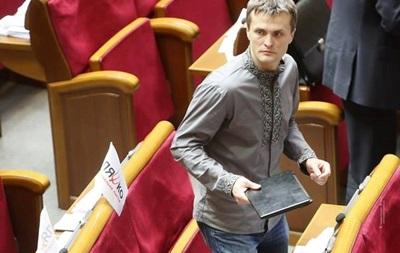 У депутата Игоря Луценко угнали мотоцикл