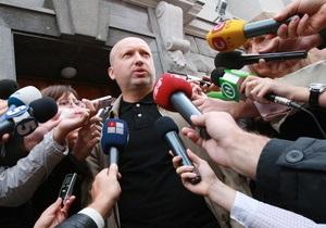 Турчинов не знает, по какому делу Генпрокуратура вызвала его на допрос