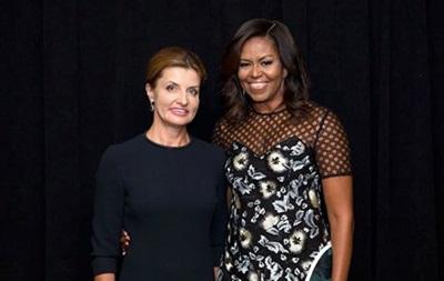 Марина Порошенко побывала на приеме у Мишель Обамы