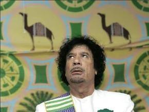 Муаммар Каддафи празднует 40-летие прихода к власти