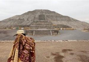 Археологи обнаружили в пирамиде Солнца скульптуру самого древнего бога индейцев