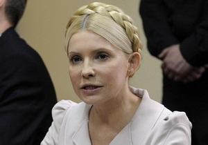 Тимошенко заявила, что у суда нет доказательств ее вины