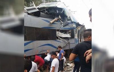 В Алжире столкнулись два поезда