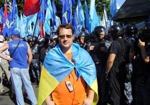 Перед смертью известный организатор митингов задумывался о самоубийстве - милиция