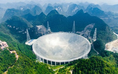 Китай запустив найбільший у світі радіотелескоп