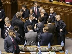 Ще не вмерла Україна в заблокированной Раде