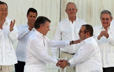 Колумбия и повстанцы FARC подписали мирное соглашение