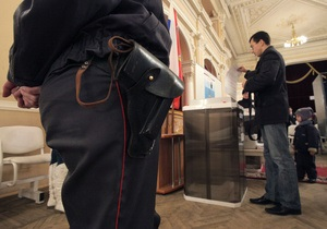 Более 60% живущих в Крыму россиян проголосовали за ЕР