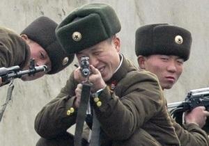 КНДР произвела артиллерийские залпы в сторону Желтого моря