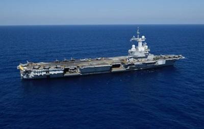 Франция начала авиаудары по ИГ с авианосца  Шарль де Голль
