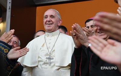 Папа Римський розпочав візит до Грузії